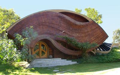 Villa palagione arthur dyson for Architettura wright